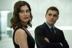 Lizzy Caplan and Dave Franco