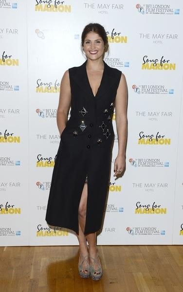 Gemma Arterton at the 56th BFI LFF Song For Marion After Party