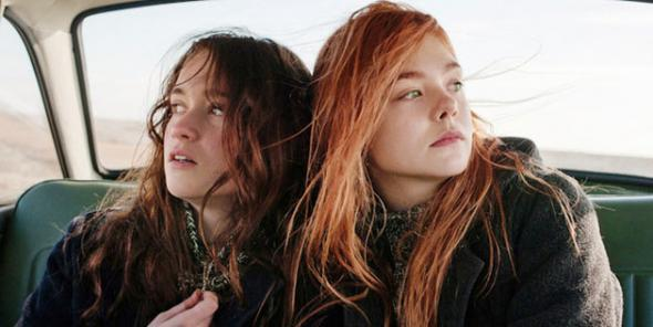 Elle Fanning and Alice Englert