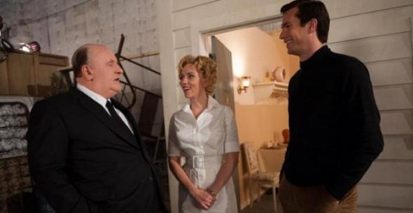 Anthony Hopkins, Scarlett Johansson and James D'Arcy