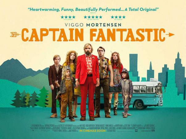 Captain Fantastic UK poster