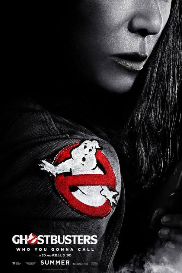 Kristin Wiig Ghostbusters Poster