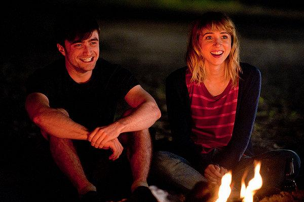Daniel Radcliffe and Zoe Kazan