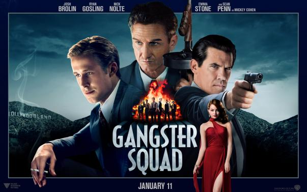 Gangster Squad UK Poster