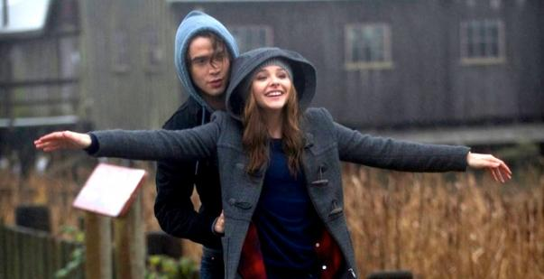 Jamie Blackley and Chloë Grace Moretz