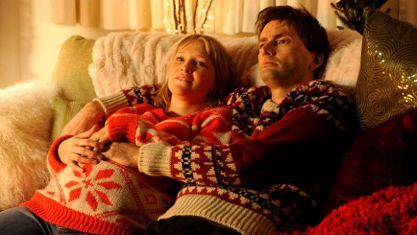 Joanna Page and David Tennant